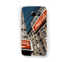 Luncheonette in the Lower East Side - Kodachrome Postcard Samsung Galaxy Case/Skin
