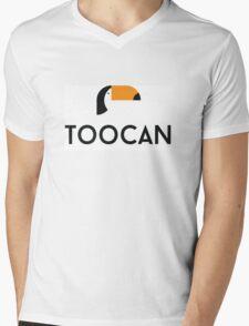 TOOCAN Mens V-Neck T-Shirt