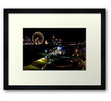 Christmas in Princes Street Framed Print