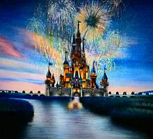 Disney Castle by love-artworks