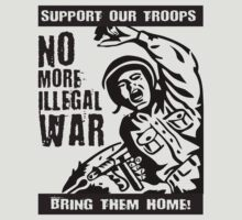 No More Illegal War by Flip49