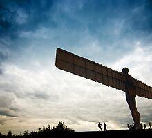 Angel of the North by Jon Bradbury