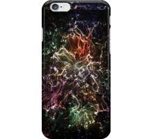 Neon Flame Rainbow iPhone Case/Skin