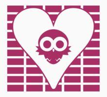 Lovebird Owl T-shirt by LoveDove