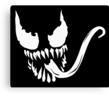 Venom face Canvas Print
