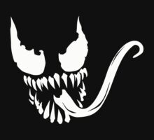 Venom face by saturdaytees