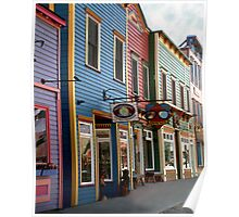 The Shops in Crested Butte Poster