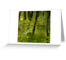 Visionary Forest Greeting Card