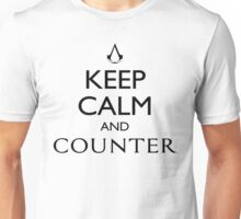 Keep Calm and Counter Unisex T-Shirt