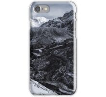NEPAL:FROZEN VALLEY iPhone Case/Skin