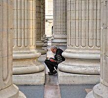 Between The Columns by Xandru