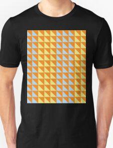 Fun Colors Pattern - Orange, Blue, Yellow Unisex T-Shirt