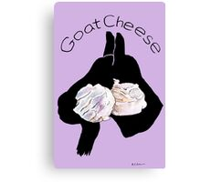 Goat Cheese (Purple) Canvas Print