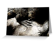 Prehistoric Greeting Card