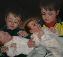 Big Brothers and little Sisters by Cathy Amendola