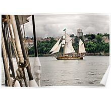 Off the Starboard Bow Poster
