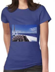 Sailing Forward Womens Fitted T-Shirt