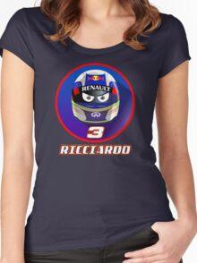 DANIEL RICCIARDO #3_2015 Women's Fitted Scoop T-Shirt