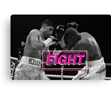 Boxing - Fight Canvas Print