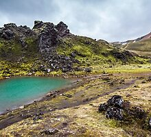 ICELAND:THE EMERALD LAKE by philaphoto