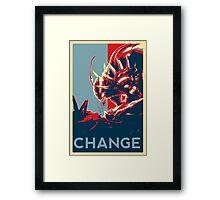 Kha'zix - League of Legends Framed Print