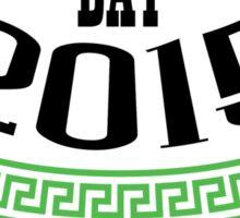 St. Patrick's day 2015 Sticker