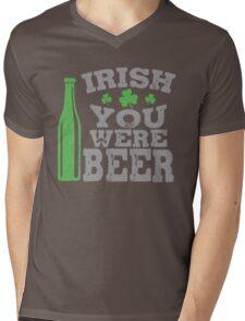 Irish you were beer Mens V-Neck T-Shirt