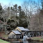 Mabry Mill, Blue Ridge Parkway by Dianna Tilley