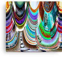 The Distortion of Literature Canvas Print