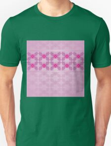 Pink ornament with floral 5 Unisex T-Shirt