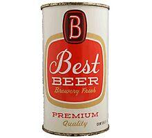 Best beer Photographic Print
