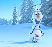 Olaf from Frozen by rubzzasty