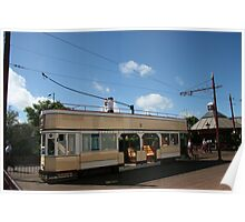 Seaton tram Poster