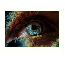 Spooky Eye Art Print