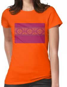 Purple Ornament 4 Womens Fitted T-Shirt