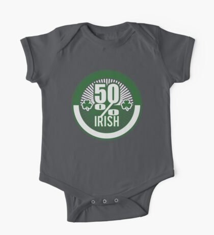 50 % irish One Piece - Short Sleeve