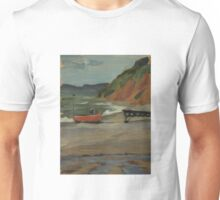 Fishing Boat at Branscombe Unisex T-Shirt
