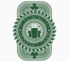 St. Patrick's day drinking team by nektarinchen