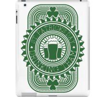 St. Patrick's day drinking team iPad Case/Skin