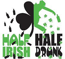 Half irish, half drunk Photographic Print