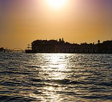 Sunset Over Venice by daphsam