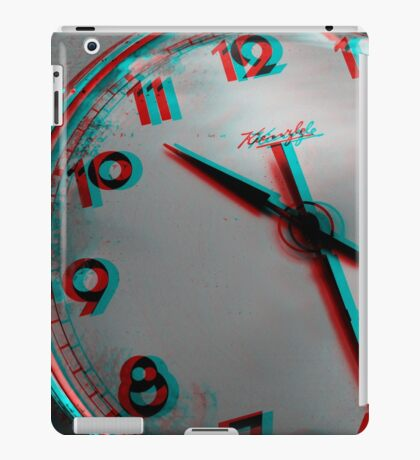 Time goes by .. so slowly iPad Case/Skin