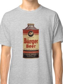 BEER - Vintage Burguer can. Classic T-Shirt