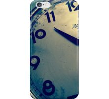 Time goes by .. so slowly iPhone Case/Skin