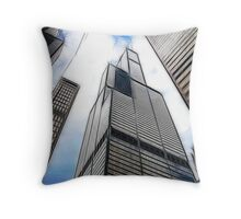 SEARS TOWER FRACTALIUS Throw Pillow
