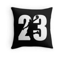 JAMES LEBRON NUMBER 23 CAVALIERS Throw Pillow