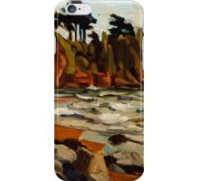 A Tramp Along the English Riviera. iPhone Case/Skin