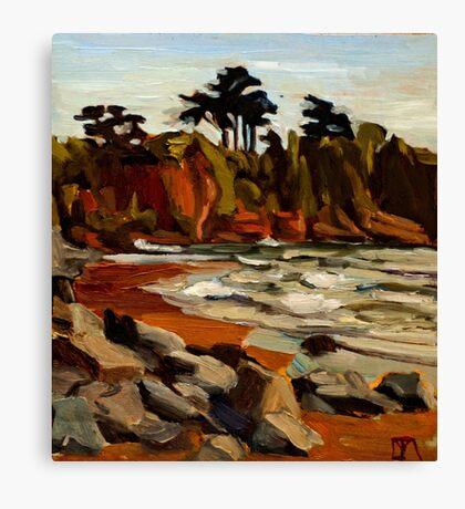 A Tramp Along the English Riviera. Canvas Print