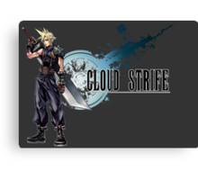 Cloud Strife Canvas Print