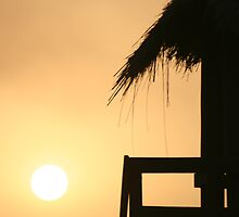 Sunset in Gambia IV by JoLennox
